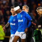 Aribo Suffers Injury