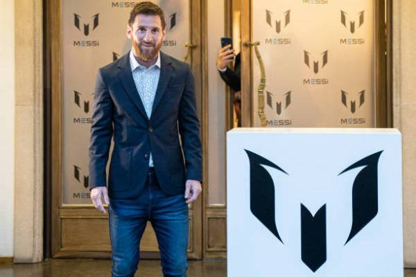 Messi sampling his fashion line