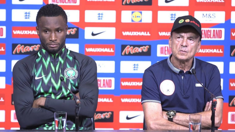 Mikel Obi Was Angry That Gernot Rohr Gave His Position To Alex Iwobi And Wanted Him Removed From Stating Line-up - BBC Reporter