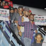 Evacuated Nigerians. South Africa