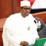 Buhari at national Assembly