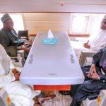 President Buhari departing abuja