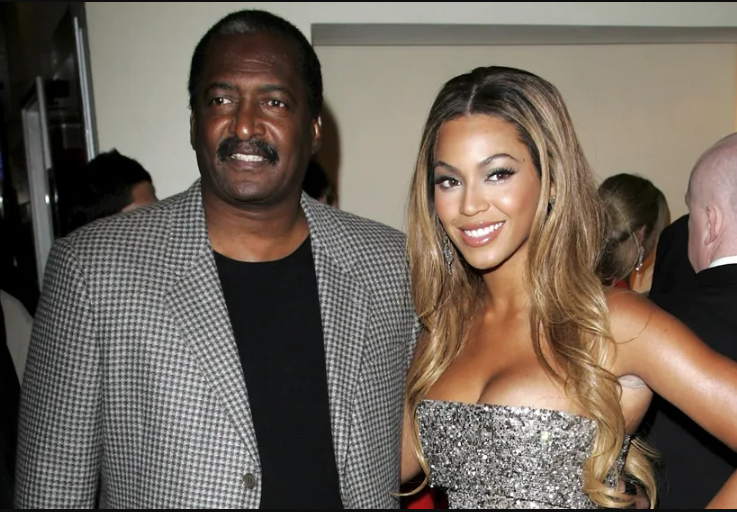 Mathew and his daughter beyonce