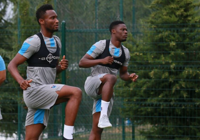 Mikel Obi, Onazi Ogenyi Resume Full Training With Trabzonspor