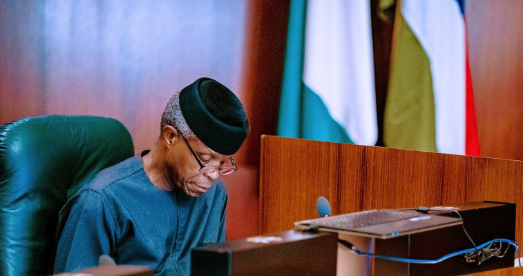 Osinbajo Explains Role In Uzodinma's Victory, Clears Air