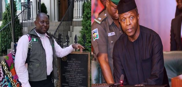 VP Osinbajo's Security Aides Reportedly Beat Up Journalist At Aso Rock