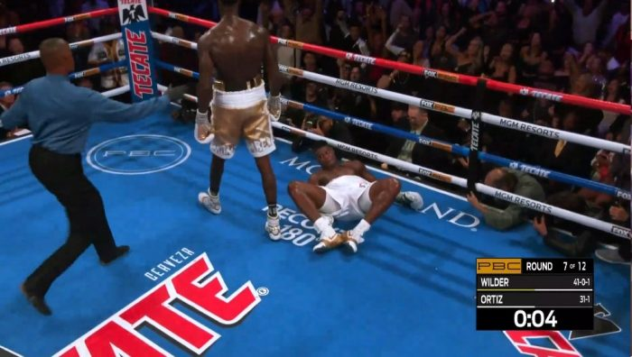 BREAKING: Wilder Knocks Out Ortiz In 7th Round