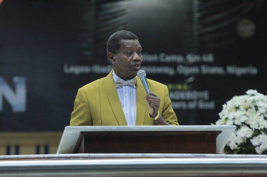 RCCG Pastor Adeboye