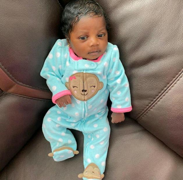 Celebrity Police Officer, Dolapo Badmus Welcomes Baby Girl