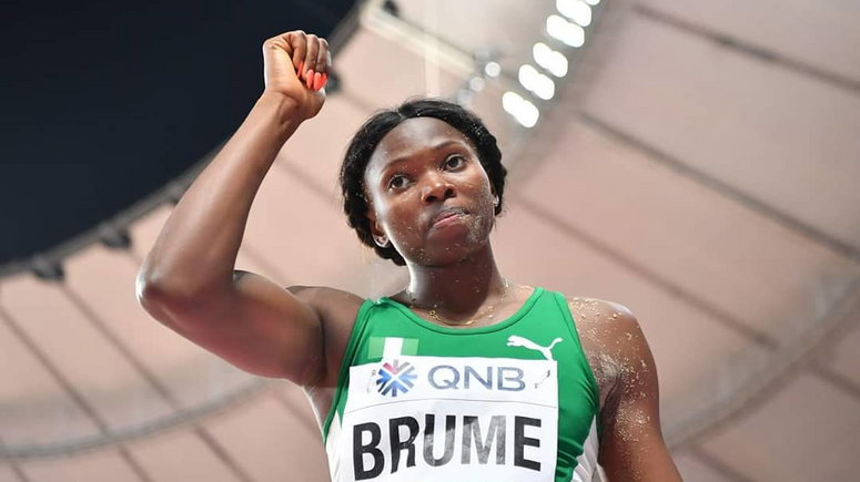 World Indoor Tour: Nigeria's Brume Sets New Long Jump Personal Best
