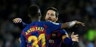 Barcelona Set To Face Ansu Fati After Dealing With Lionel Messi
